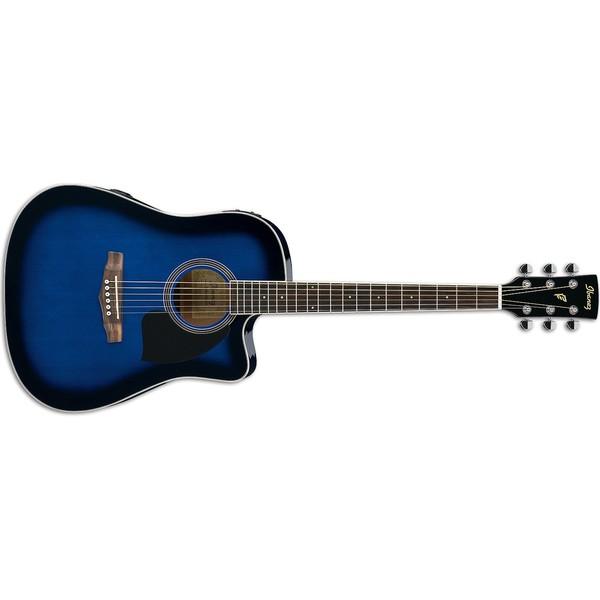 Гитара электроакустическая Ibanez PF15ECE-TBS бас гитара ibanez sr300eb weathered black