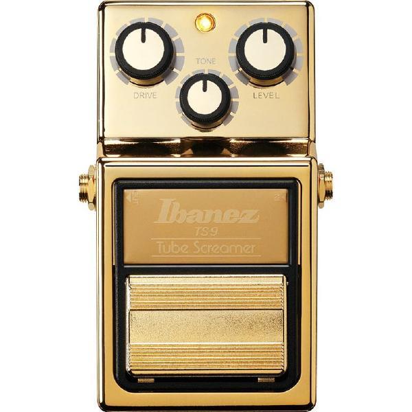 Педаль эффектов Ibanez Tube Screamer TS9 Gold Limited Edition электрогитара ibanez rg421ex bkf