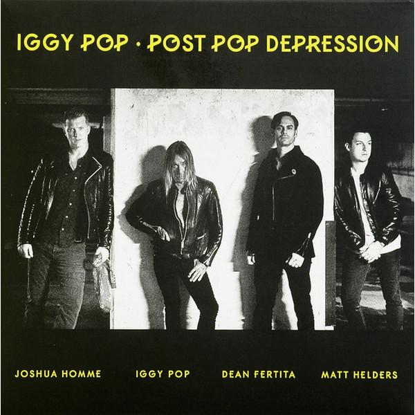 купить Iggy Pop Iggy Pop - Post Pop Depression по цене 2140 рублей