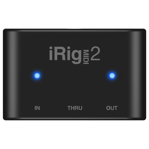 Мобильный аудиоинтерфейс IK Multimedia iRig MIDI 2 мобильный аудиоинтерфейс ik multimedia irig pro i o