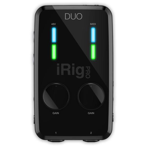 Мобильный аудиоинтерфейс IK Multimedia iRig Pro DUO мобильный аудиоинтерфейс ik multimedia irig pro i o