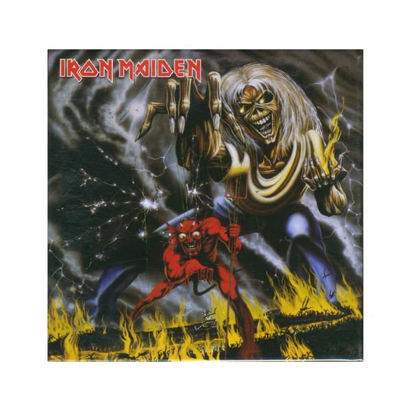 Iron Maiden Number Of The Beast Single Iron Maiden - Number O...