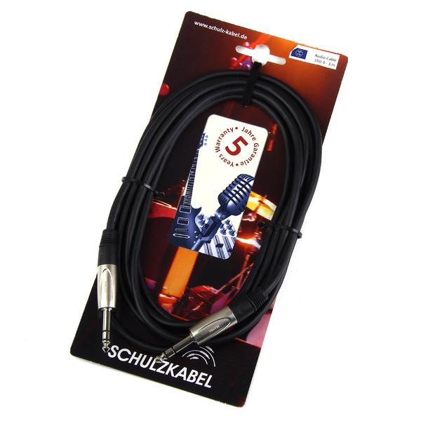 Кабель Jack-Jack Schulz Кабель межблочный стерео Jack-стерео Jack STO 6 m кабель jack jack schulz кабель межблочный стерео jack стерео jack sto 1 m