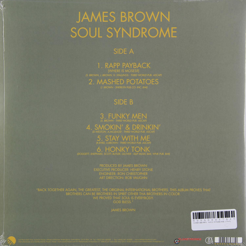 James Brown Soul Syndrome