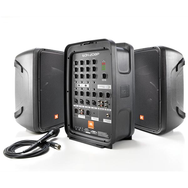 лучшая цена Комплект профессиональной акустики JBL EON208P
