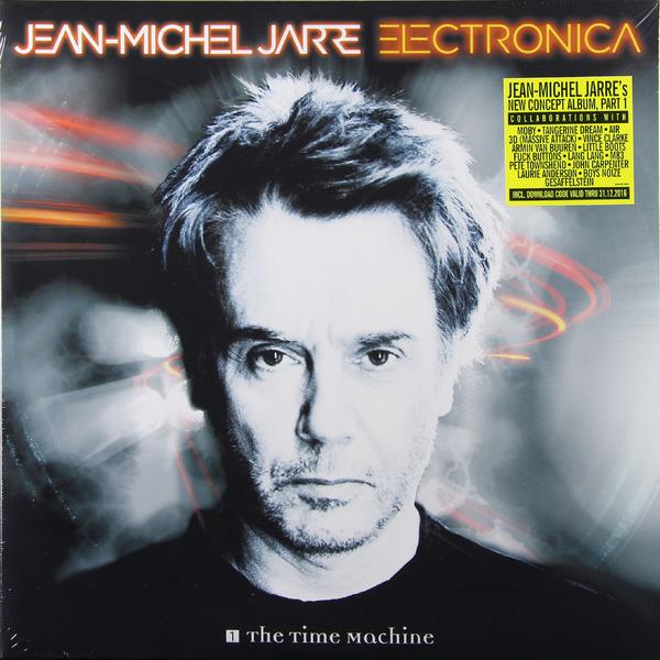 Jean Michel Jarre Jean Michel Jarre - Electronica 1: The Time Machine (2 LP) jean michel jarre jean michel jarre revolutions