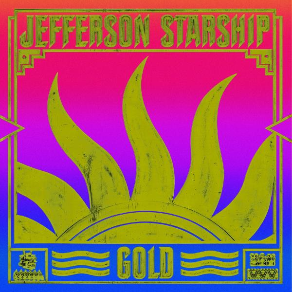 Jefferson Starship Jefferson Starship - Gold (colour Lp+7 )