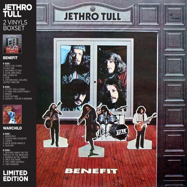Jethro Tull Jethro Tull - Benefit / Warchild (2 LP) jethro tull jethro tull too old to rock n roll too young to die the tv special edition 2 cd 2 dvd