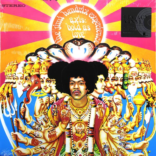 Jimi Hendrix Jimi Hendrix - Axis: Bold As Love плектр dunlop jimi hendrix 12 medium