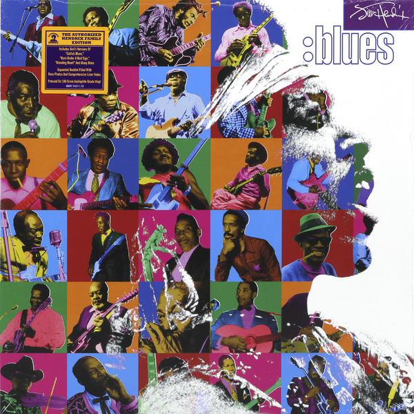 Jimi Hendrix Jimi Hendrix - Blues (2 Lp, 180 Gr) jimi hendrix jimi hendrix experience hendrix the best of jimi hendrix 2 lp