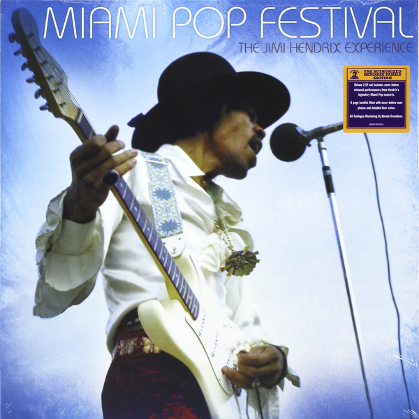 jimi hendrix miami pop festival 2 lp jimi hendrix miami pop. Black Bedroom Furniture Sets. Home Design Ideas