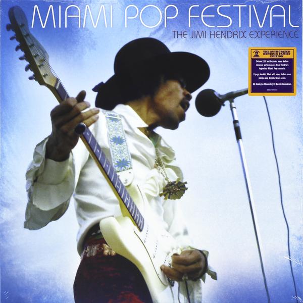 Jimi Hendrix Jimi Hendrix - Miami Pop Festival (2 LP) цена и фото