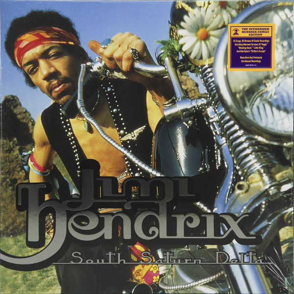 лучшая цена Jimi Hendrix Jimi Hendrix - South Saturn Delta (2 LP)