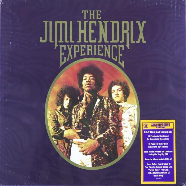 джими хендрикс jimi hendrix experience hendrix the best of jimi hendrix 2 lp Jimi Hendrix Jimi Hendrix - The Jimi Hendrix Experience (8 Lp, 180 Gr)