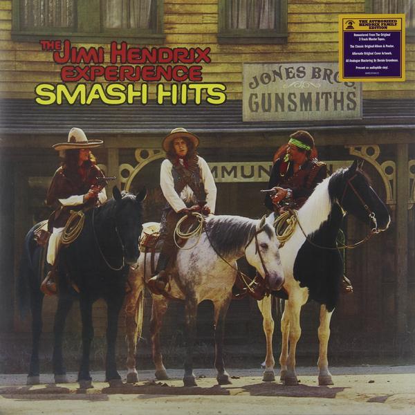 Jimi Hendrix Jimi Hendrix Experience - Smash Hits плектр dunlop jimi hendrix 12 medium