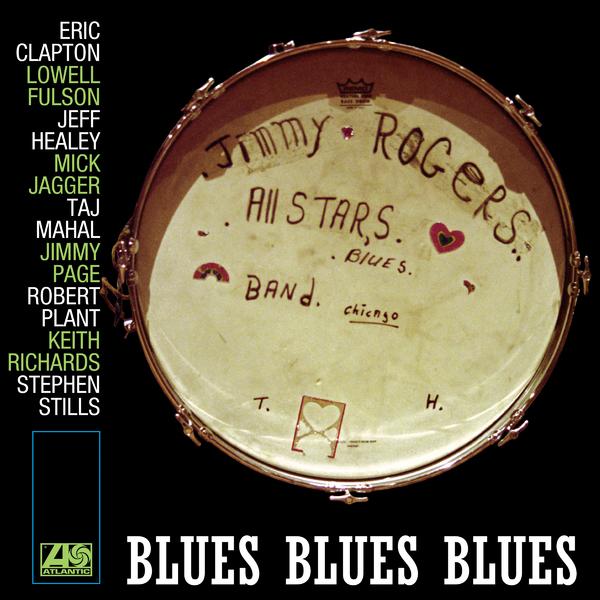 Jimmy Rogers Jimmy Rogers All Stars - Blues Blues Blues (2 LP) british blues invasion