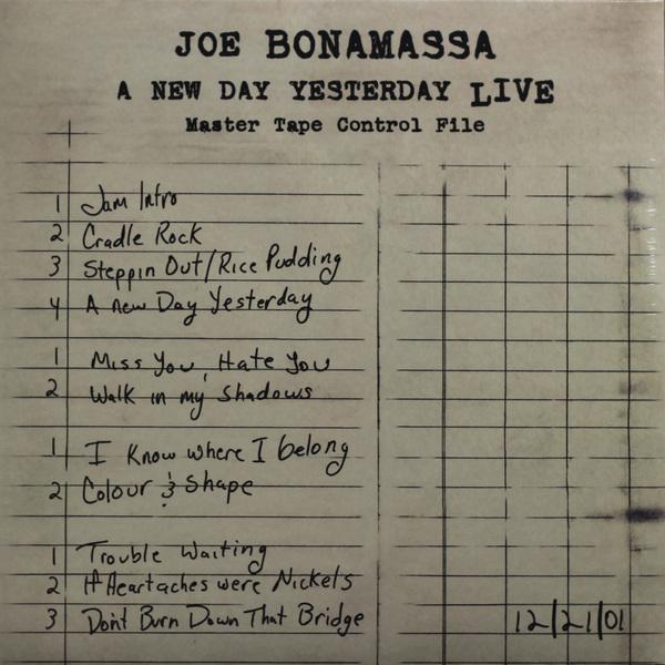 Joe Bonamassa Joe Bonamassa - A New Day Yesterday Live (2 LP)