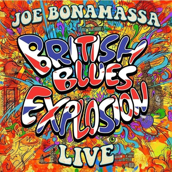 Joe Bonamassa Joe Bonamassa - British Blues Explosion Live (3 Lp, 180 Gr, Colour) раскраска с трафаретом ми ми мишки