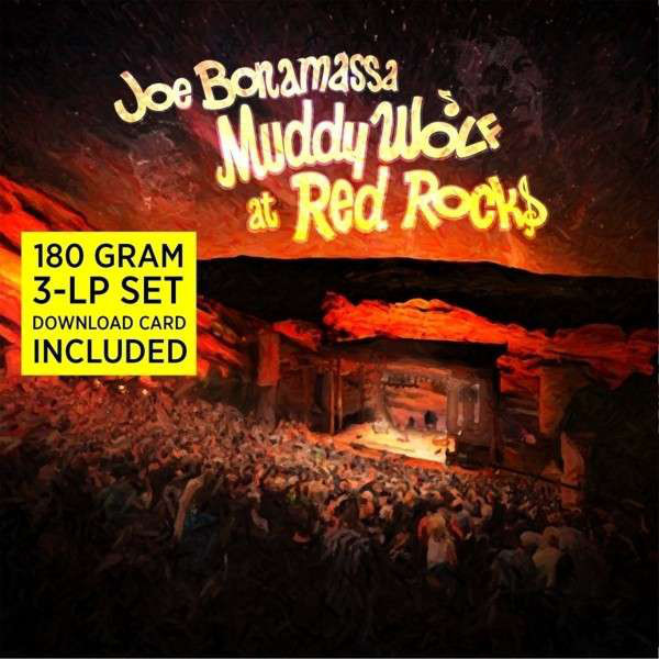 Joe Bonamassa Joe Bonamassa - Muddy Wolf At Red Rocks (3 LP) white rabbit red wolf