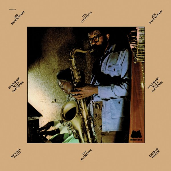 Joe Henderson Joe Henderson Alice Coltrane - The Elements джо хендерсон joe henderson mode for joe lp