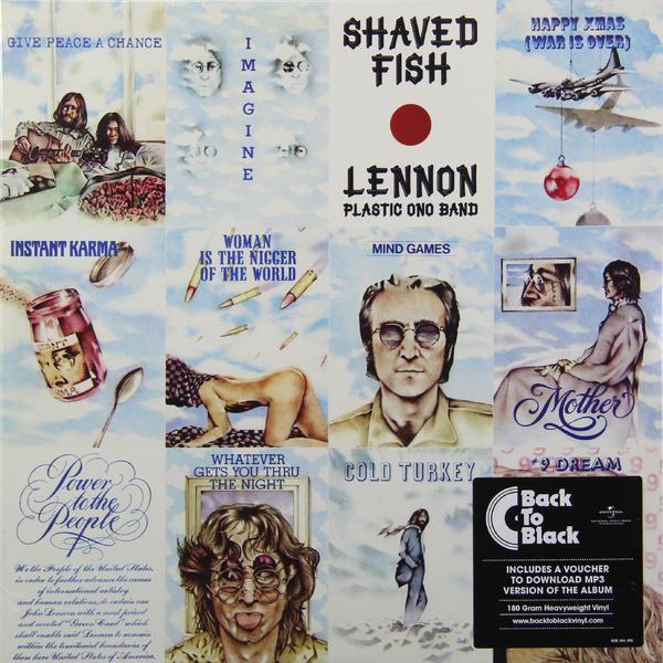 John Lennon John Lennon - Shaved Fish (180 Gr) цена и фото