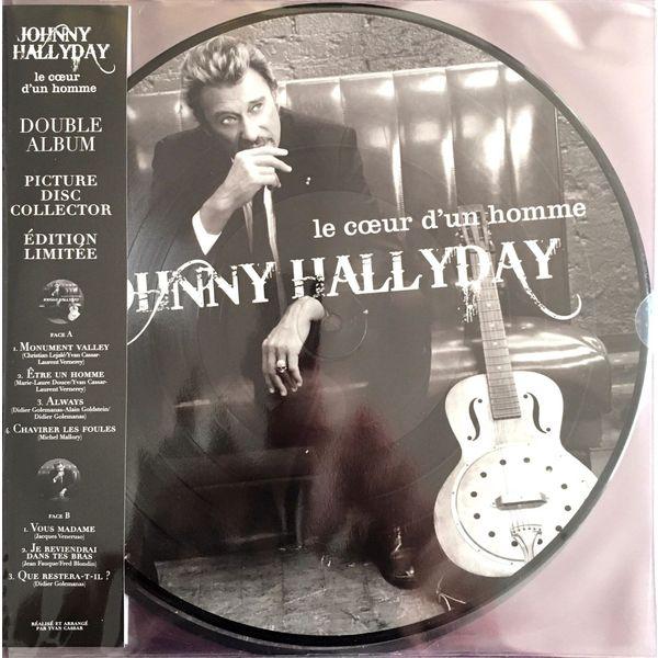 Johnny Hallyday Johnny Hallyday - Le Coeur D'un Homme (2 Lp, 180 Gr, Picture Disc) джонни холлидей johnny hallyday born rocker tour concert au theatre de paris 2 lp