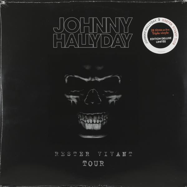 Johnny Hallyday Johnny Hallyday - Rester Vivant Tour (3 Lp, 180 Gr) джонни холлидей johnny hallyday born rocker tour concert au theatre de paris 2 lp
