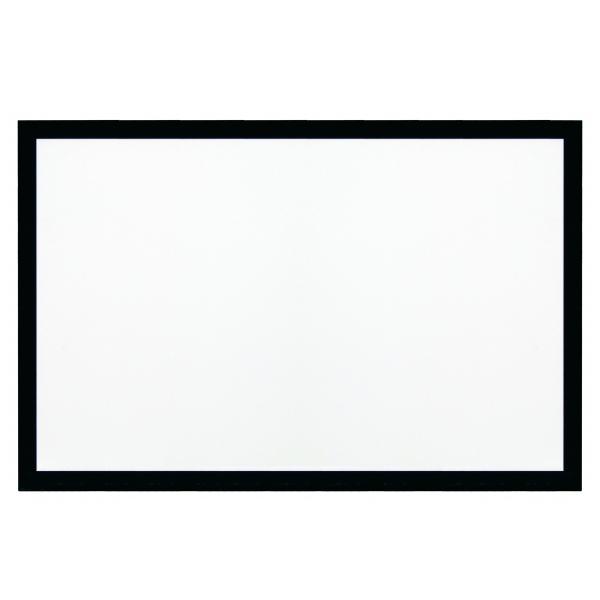 Экран для проектора Kauber Frame Velvet (2.35:1) 163 162x380 White Flex momax 47 дюйма полный экран черный свет сторон хлеба дефолт
