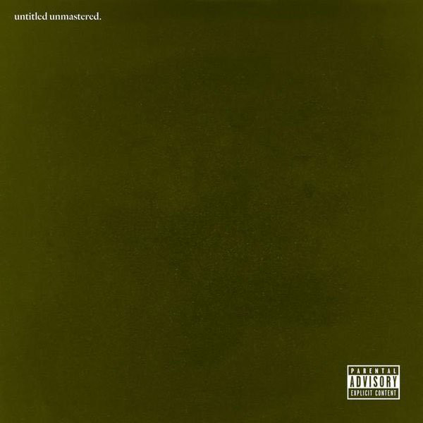 Kendrick Lamar Kendrick Lamar - Untitled Unmastered. kendrick lamar kendrick lamar to pimp a butterfly 2 lp