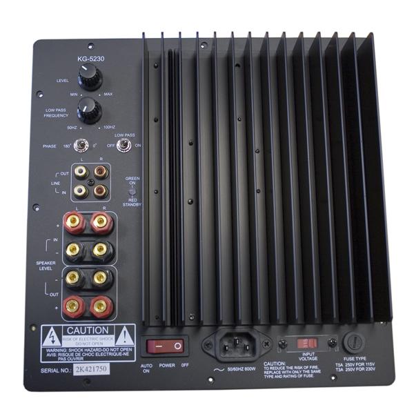 Усилитель для сабвуфера KG 5230.