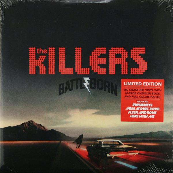 Killers Killers - Battleborn (2 Lp, 180 Gr)
