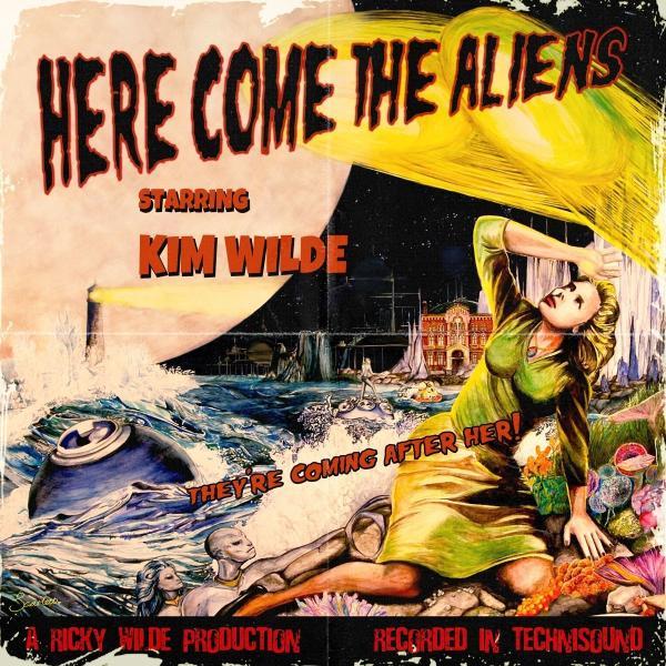 цена на Kim Wild Kim Wild - Here Come The Aliens