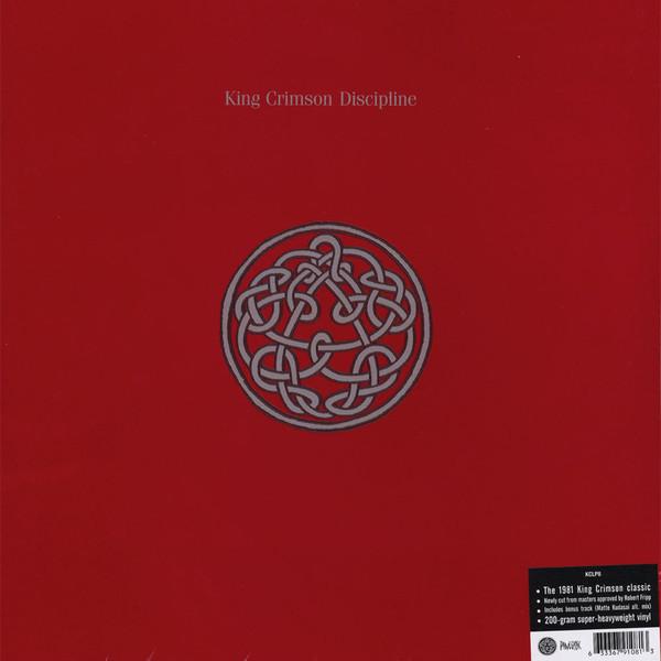 King Crimson King Crimson - Discipline (200 Gr)