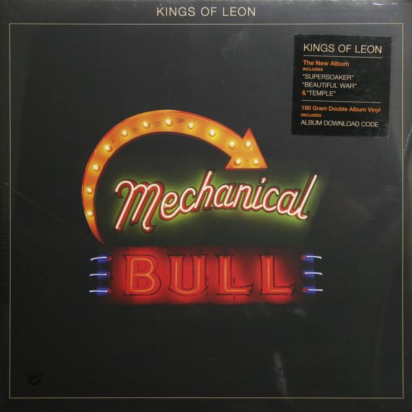 Kings Of Leon Kings Of Leon - Mechanical Bulls (2 Lp, 180 Gr) kings of leon kings of leon mollys chambers red morning light 7