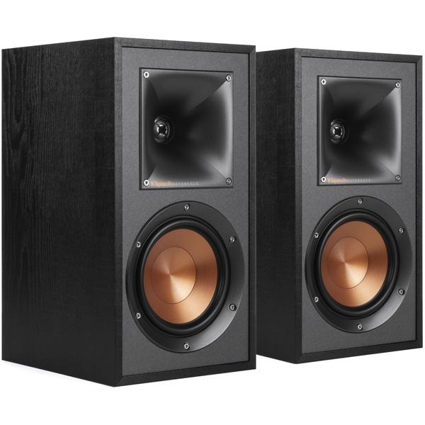где купить Полочная акустика Klipsch R-51M Black дешево