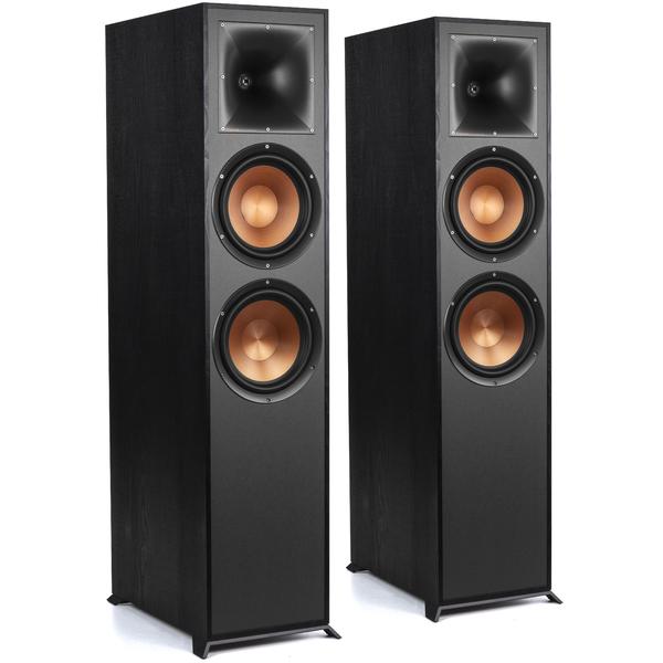 цена Напольная акустика Klipsch R-820F Black
