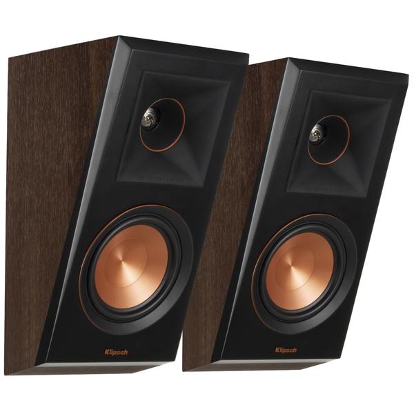 Специальная тыловая акустика Klipsch RP-500SA Walnut напольная акустика klipsch rp 280fa walnut уценённый товар