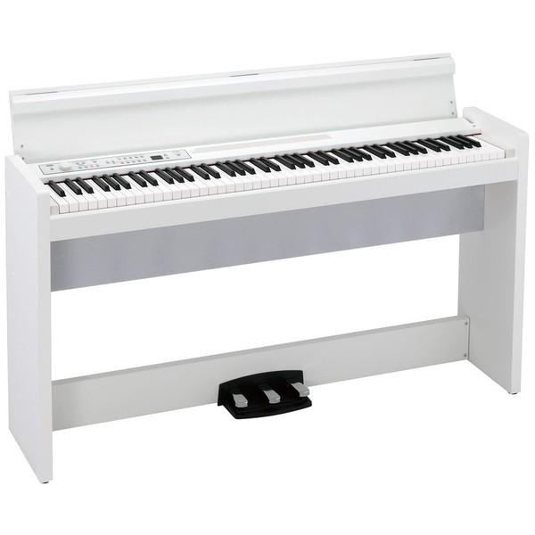 лучшая цена Цифровое пианино Korg LP-380 WH