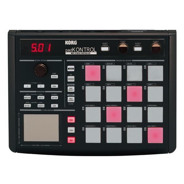 MIDI-контроллер Korg PADKONTROL KPC-1 цены