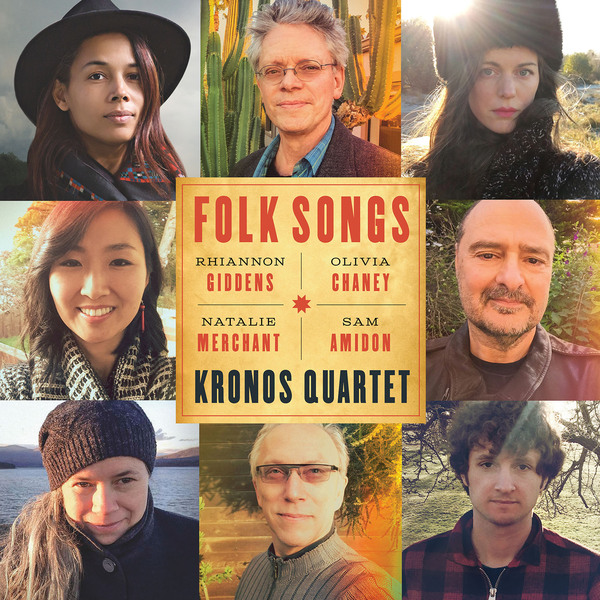 Kronos Quartet Kronos Quartet - Folk Songs серьги by song quartet 3022