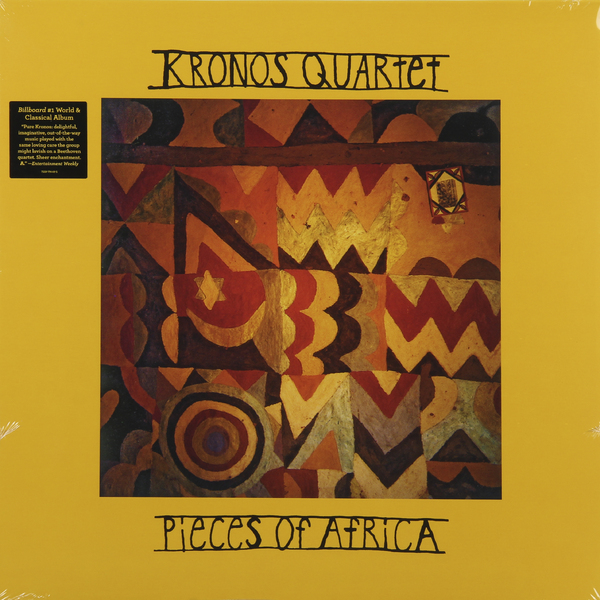 Kronos Quartet Kronos Quartet - Pieces Of Africa (2 LP) цена