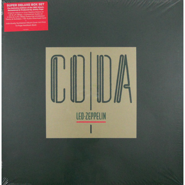 Led Zeppelin Led Zeppelin - Coda (3 Lp, 180 Gr + 3 Cd) цена
