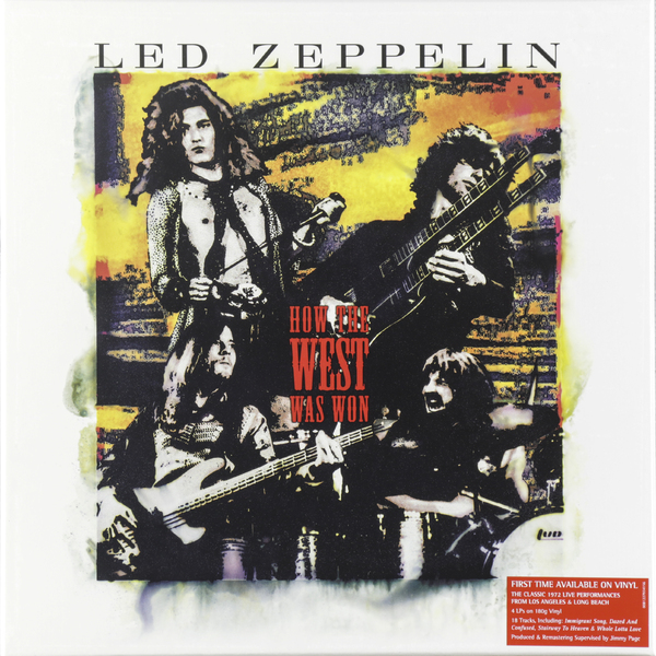 лучшая цена Led Zeppelin Led Zeppelin - How The West Was Won (4 LP)