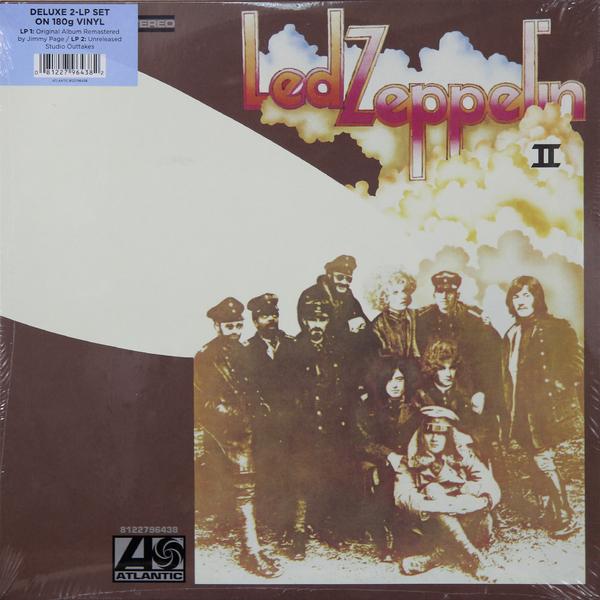 лучшая цена Led Zeppelin Led Zeppelin - Ii Deluxe Edition (2 LP)