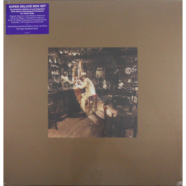 Led Zeppelin Led Zeppelin - In Through The Out Door (box Set) in through the out door super deluxe edition box lp cd