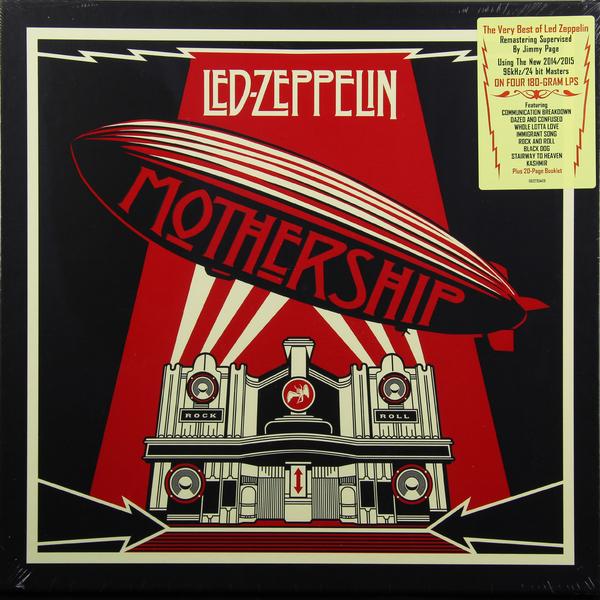 лучшая цена Led Zeppelin Led Zeppelin - Mothership: The Very Best Of Led Zeppelin (4 Lp, 180 Gr)