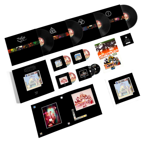 Led Zeppelin Led Zeppelin - The Song Remains The Same (4 Lp+2 Cd+3 Dvd) led zeppelin led zeppelin presence super deluxe edition box set 2 cd 2 lp