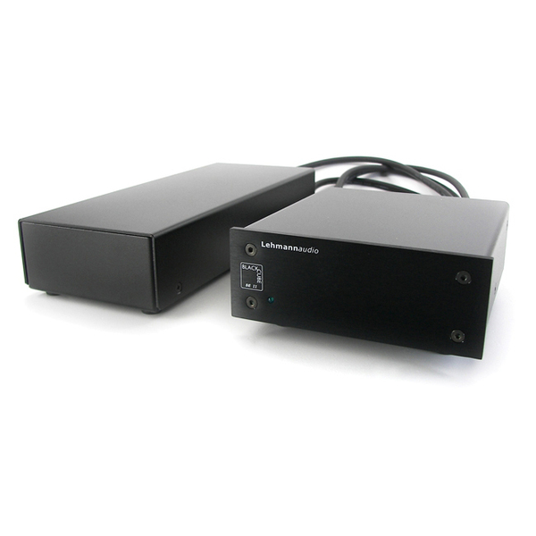 Фонокорректор Lehmann Audio Black Cube SE II Black усилитель для наушников lehmann audio linear se silver oak