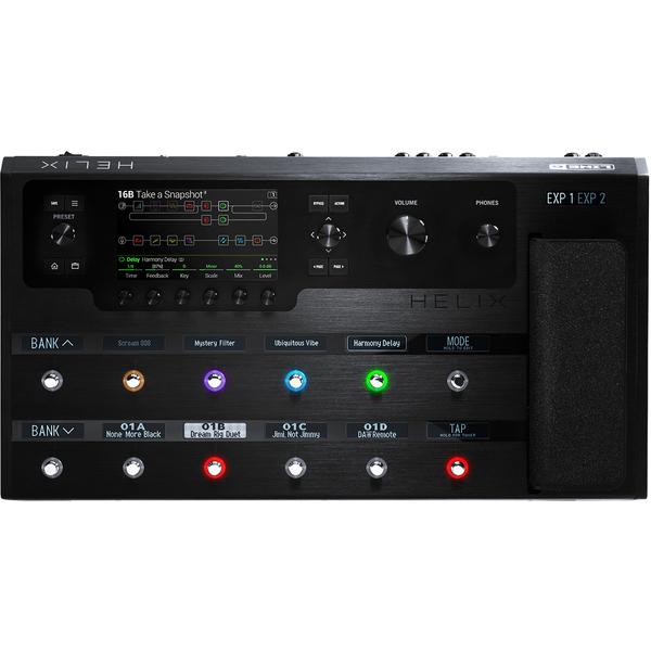 Гитарный процессор Line 6 Helix Floor Fx Processor гитарный процессор line 6 hx effects