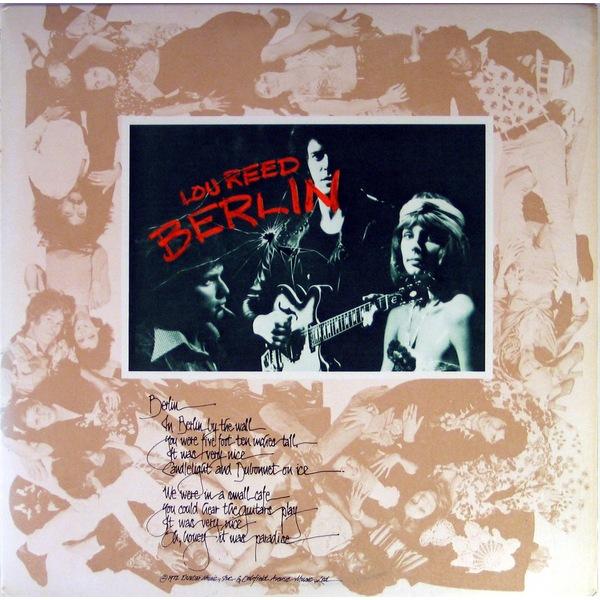 Lou Reed Lou Reed - Berlin lou reed lou reed coney island baby